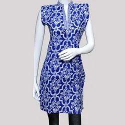 Designer Cotton Print Kurti