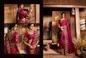 Immaculate Silk Embroidered Party Wear Saree