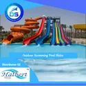 Outdoor Swimming Pool Slides