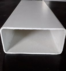 White Rectangular UPVC Food Grade Nft Channel, Size: 100X50mm