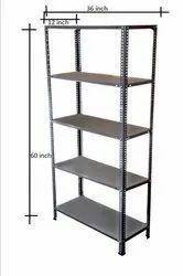 6feeet Ms Iron Metal Racks, For Warehouse