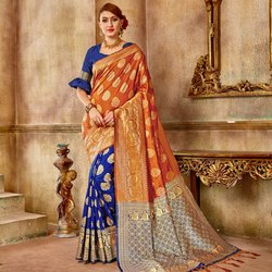 Classy Banarasi Silk Saree