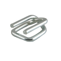 GI Silver Woven Lashing Strap Wire Buckle, Packaging Type: Box, Age Group: Standard
