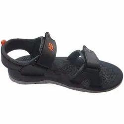 Mens Air Black Sandal, Size: 6 To 9