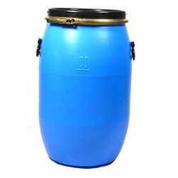 Blue Chemicals 120 Kgs Open Top Round Drums, Packaging Type: Bucket,Drum,Can