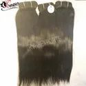 Remy Machine Weft Straight Hair