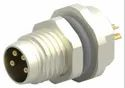 M8 4Pin Male Panel Mount Connector