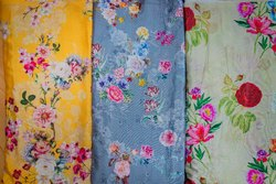Digital Printed Italian Crepe Fabric