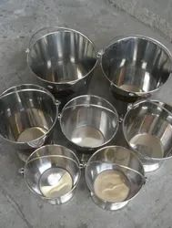Commercial Stainless Steel Bucket and Pails