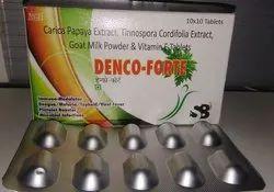 Carica Papaya Extract,Tinnospora Cordifolia Goat Milk Vitamin E Tablet