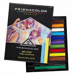 Prismacolor Artstix Woodless Pencils 12 Color Set