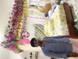 Bed Room Flower Decoration