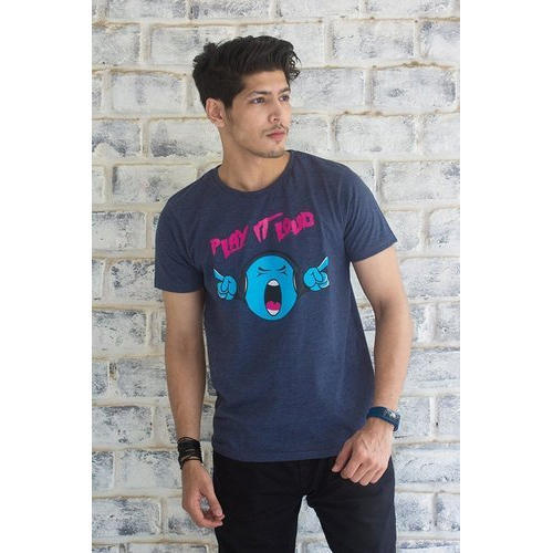 fa3ee257d Half Sleeves Large And XXL Mens Cotton Printed Half Sleeve T Shirt ...