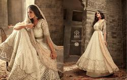 Mohini Fashion Glamour Vol-56 Series 56001-56005 Stylish Party Wear Net Suit