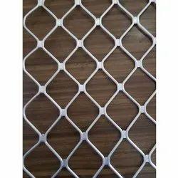 Aluminium Expanded Diamond Wire Mesh