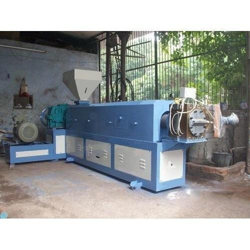Automatic 47 Kw Industrial Single Screw Extruder