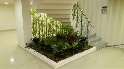 Under Stairs Garden