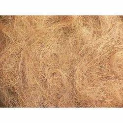 浅棕色椰壳纤维,包装类型:成捆,用于制椰壳垫,椰壳绳