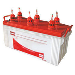 White & Red Exide Inverter Battery for Industrial And Regular