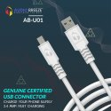 Audio Breeze Ab-u01 Fast Charging Data Cabel With 6 Month Warranty