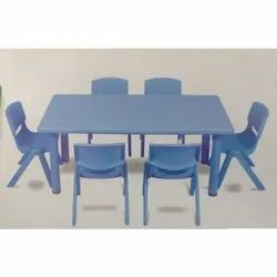 Blue Kaartikeya Play School Tables