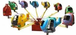 Kiddie Rides Wave Helicopter