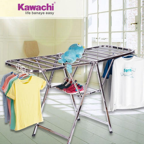 e8dd1086d6d Kawachi High Quality Stainless Steel Butterfly Foldable Clothes Drying Rack