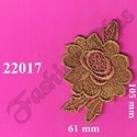 Beautiful Gold Zari Patch