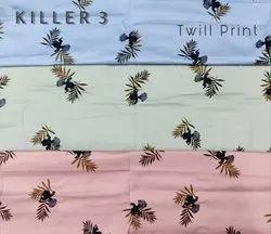 Twill Print Fabric