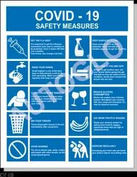 Covid-19 Safety Poster: Safety Measures