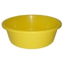 Yellow Plastic Cloth Washing Tub