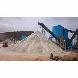 M Sand Crushing Plant