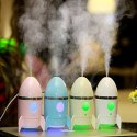 Rocket Shape Humidifier Air Freshener Humidifier With Led Night Light