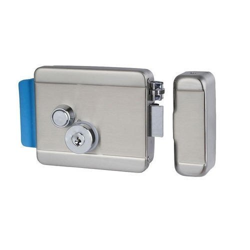 Zinc Alloy Main Door Electric Door Lock, Finish Type: Chrome