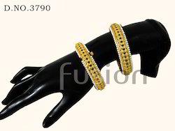 Pearl Polki Ethnic Fashion Indian Bangles