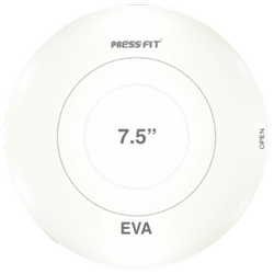 Press Fit Eva Round Cover Plate