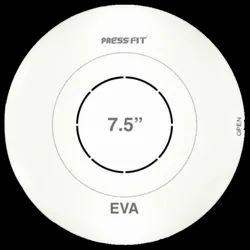 Press Fit Eva Plastic Round Cover Plates
