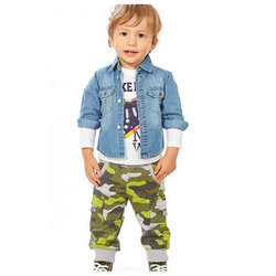 Kids Cotton Jacket, Size: S-XXL