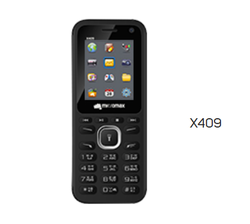 Black Micromax X409 Mobile