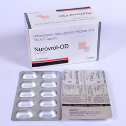 Methylcobalamin Alpha Lipoic Acid Pyridoxine HCL Capsule
