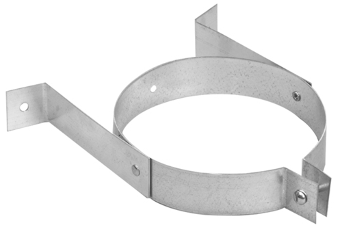 Slot Pipe Wall Bracket