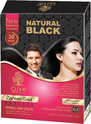 Ojya Natural Black Shampoo Based Hair Dye, Pouch, Pack Size: 15 Gm
