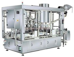 Automatic Monoblock Rotary 6 Head Piston Filler & 4 Head Rotary Capper Machine