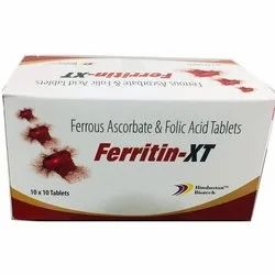 Hindustan Biotech Ferritin XT Tablet, Prescription, Packaging Type: Box