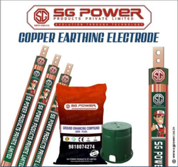 SG314 RCB Copper Earthing Electrode
