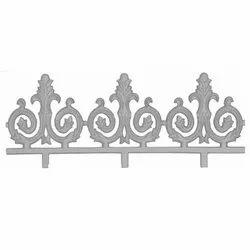 Silver CI Railing Pillar