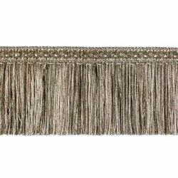 5 Inch Dark Beige Curtain Tieback Lace Ribbon