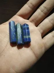 Blue Natural Lapis lazuli crystal pencil, Size: 20-25 Mm, Packaging Type: Standard packing