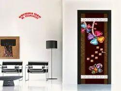 Printed Decorative Door Paper Print