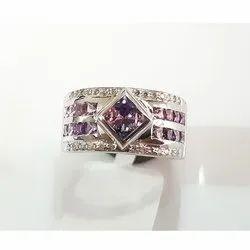 Round Emerald Ring